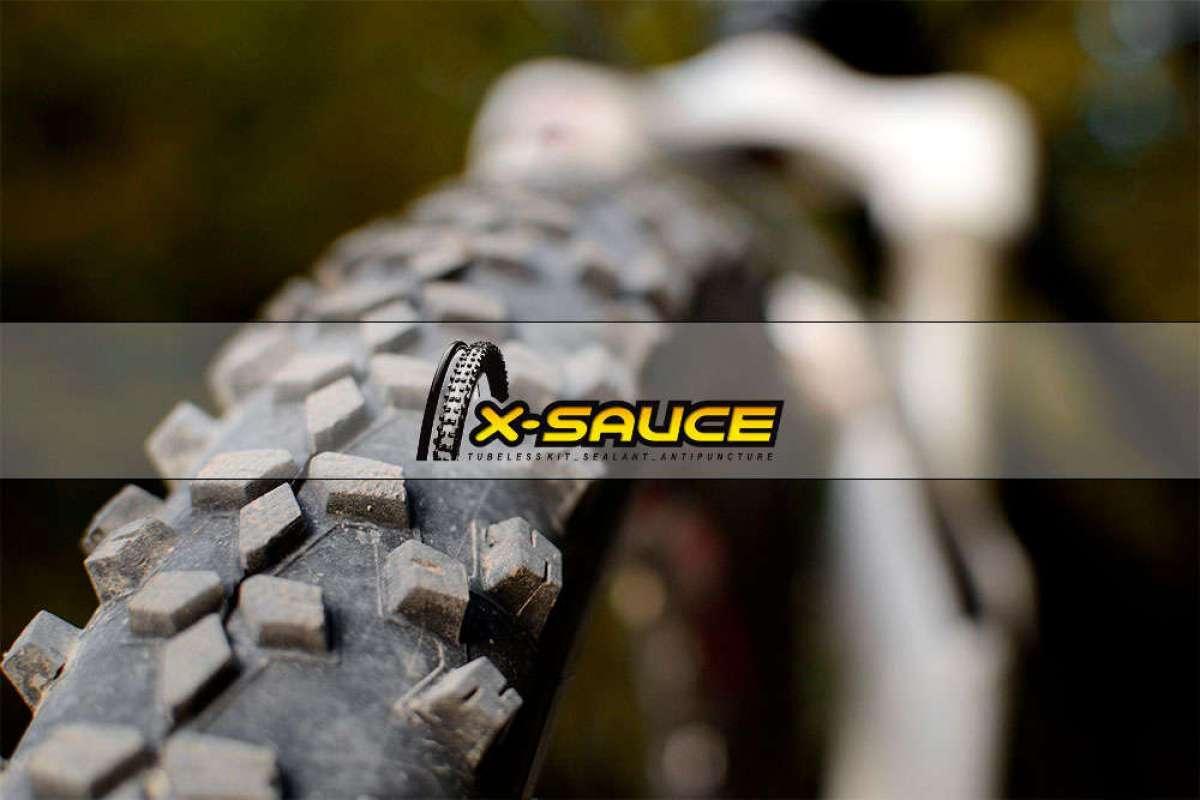 """Adiós a las ruedas tubelizadas """"secas"""" con el X-Tube de X-Sauce, un accesorio para medir y reponer el líquido"""