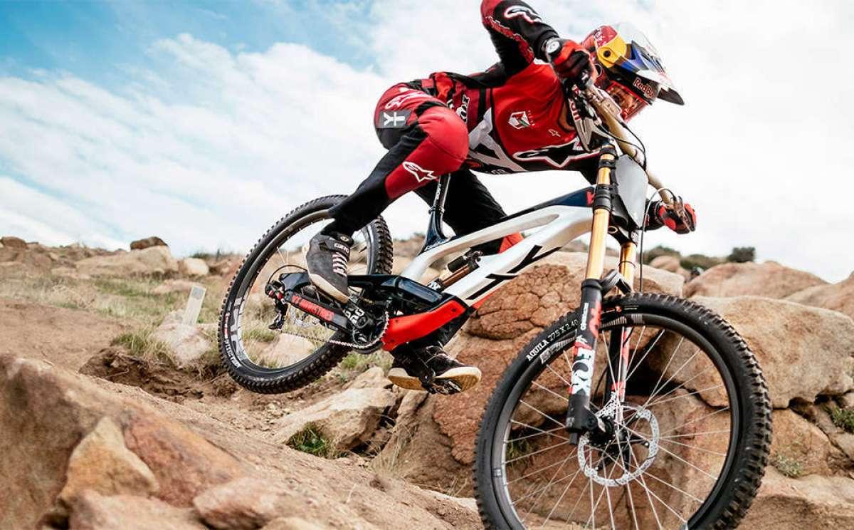 YT Tues 2018, una bicicleta de DH lista para convertirse en campeona del mundo