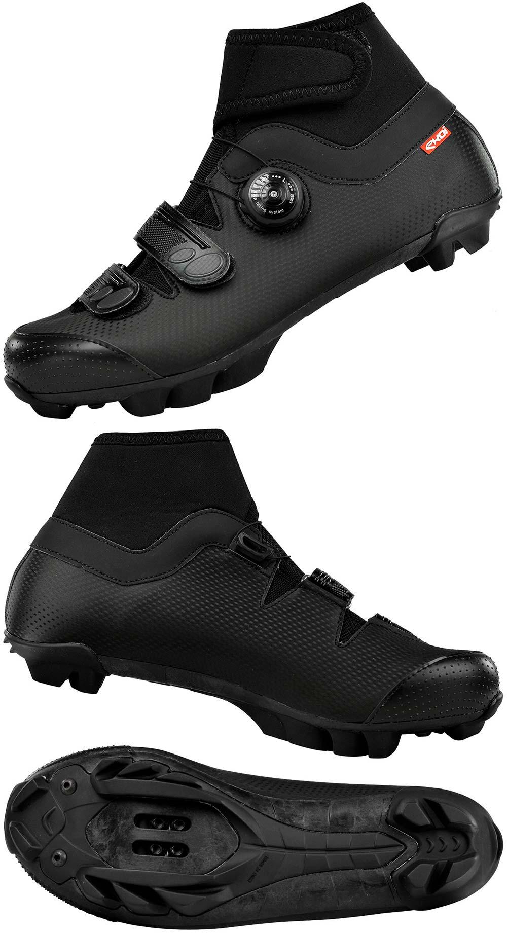En TodoMountainBike: Ekoï Winter Carbon, unas zapatillas de invierno con forro de neopreno y suela de carbono