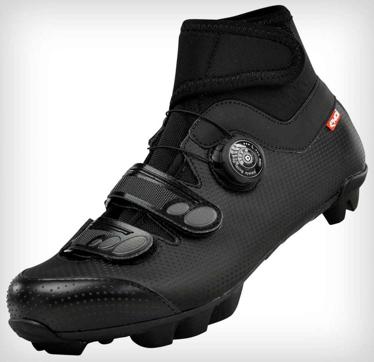Ekoï Winter Carbon, unas zapatillas de invierno con forro de neopreno y suela de carbono
