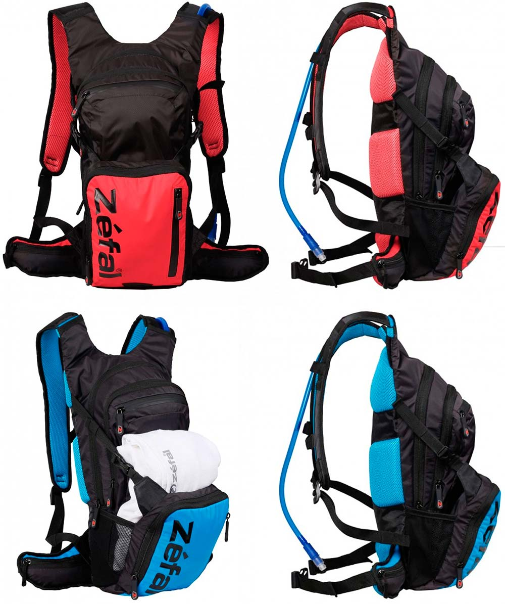 En TodoMountainBike: Zéfal Z Hydro XL, una mochila de hidratación de gran capacidad para las salidas más largas