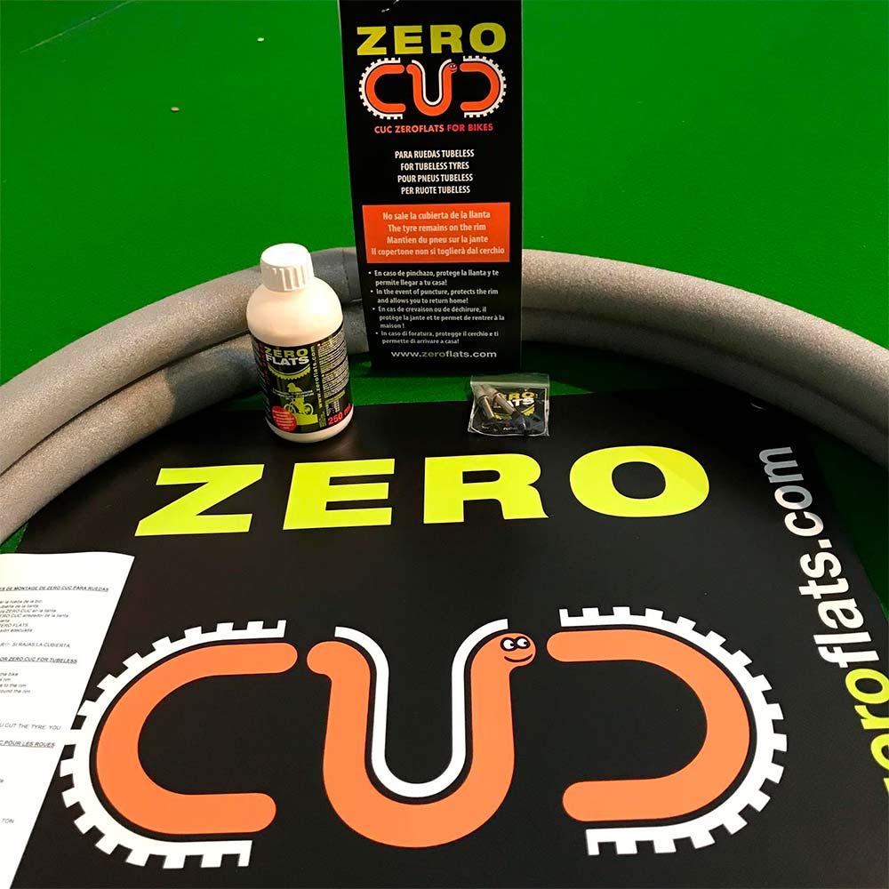 En TodoMountainBike: ZeroFlats presenta el ZeroCuc, un sistema 'mousse' antipinchazos ligero y económico a partes iguales