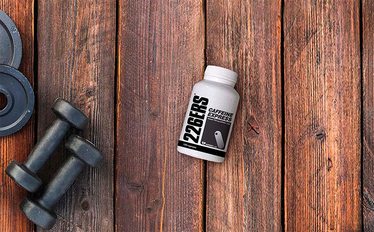 Doble chute de cafeína con las cápsulas Caffeine Express de 226ERS
