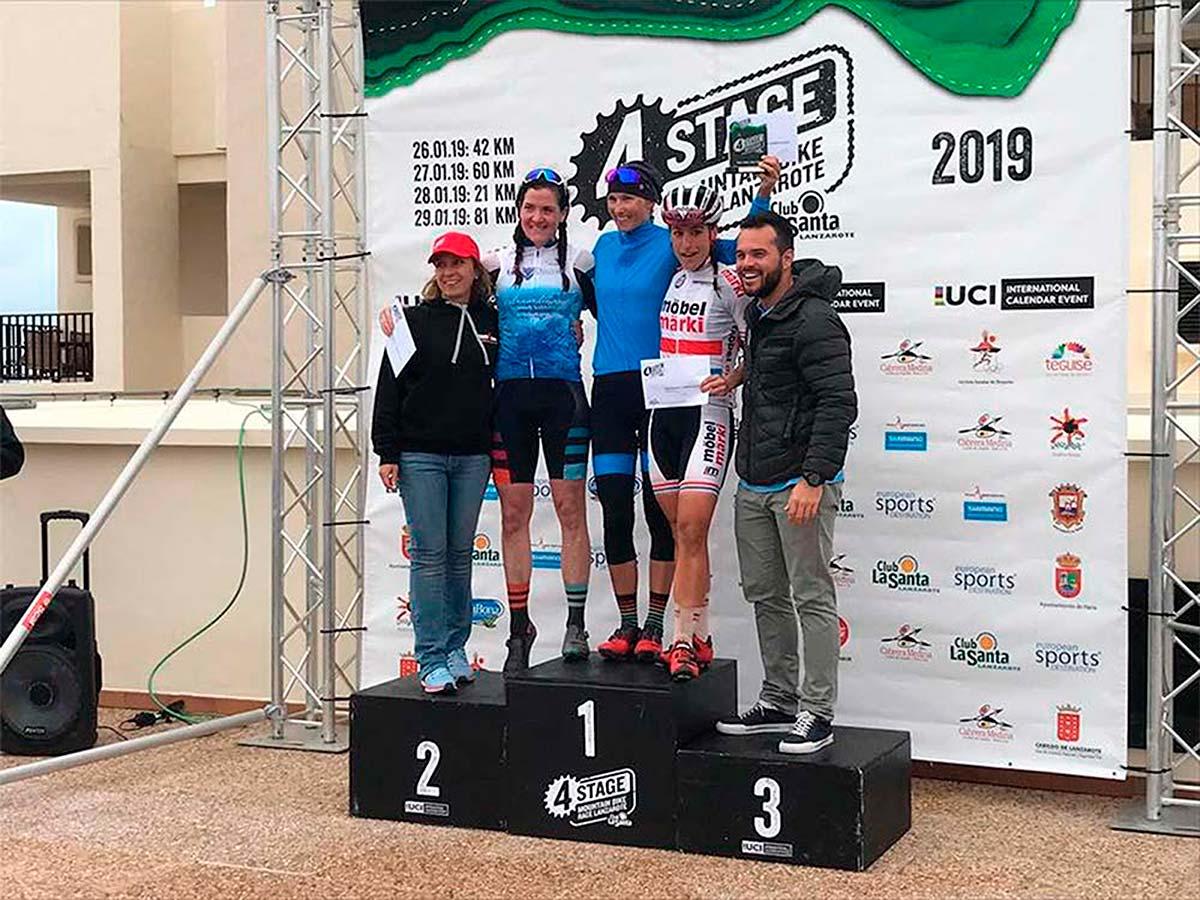 4 Stage MTB Race Lanzarote 2019: Bartlomiej Wawak y Blaza Pintaric se proclaman campeones