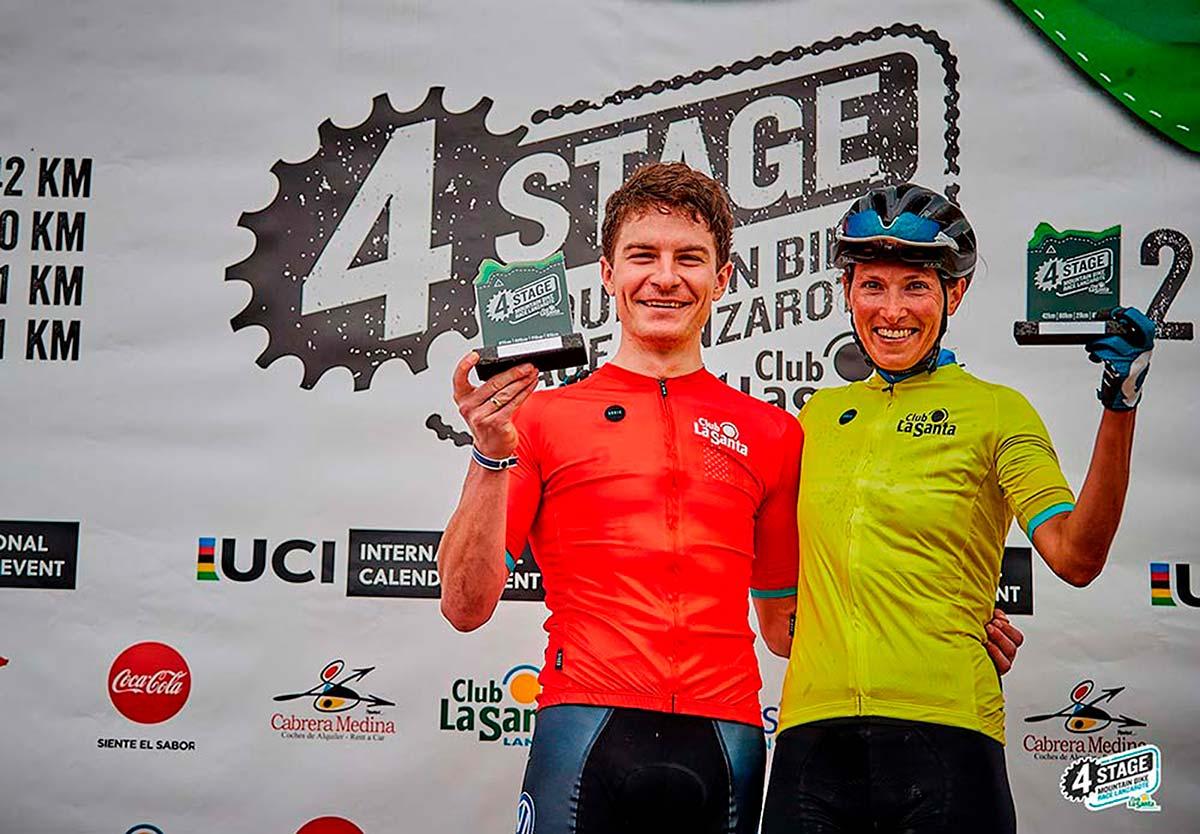En TodoMountainBike: 4 Stage MTB Race Lanzarote 2019: victoria para Bartlomiej Wawak y Blaza Pintaric en la primera etapa