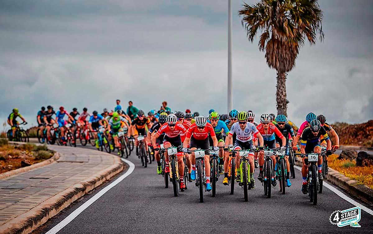 4 Stage MTB Race Lanzarote 2019: victoria para Bartlomiej Wawak y Blaza Pintaric en la primera etapa