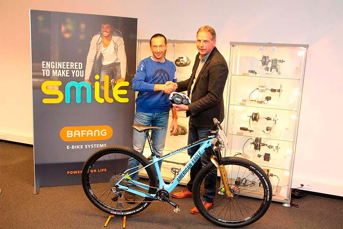 Bart Brentjens se asocia con Bafang para desarrollar la primera e-MTB de competición de American Eagle