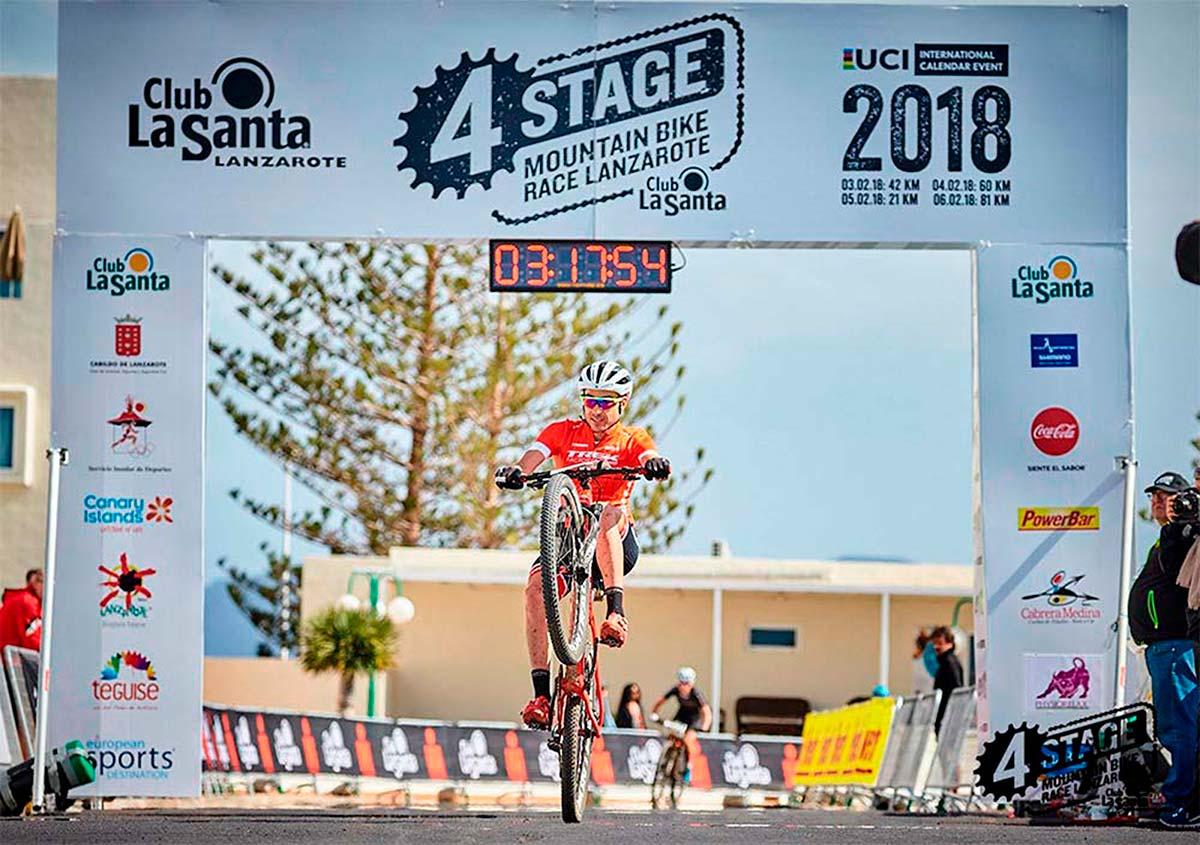 La 4 Stage MTB Race Lanzarote 2019 calienta motores