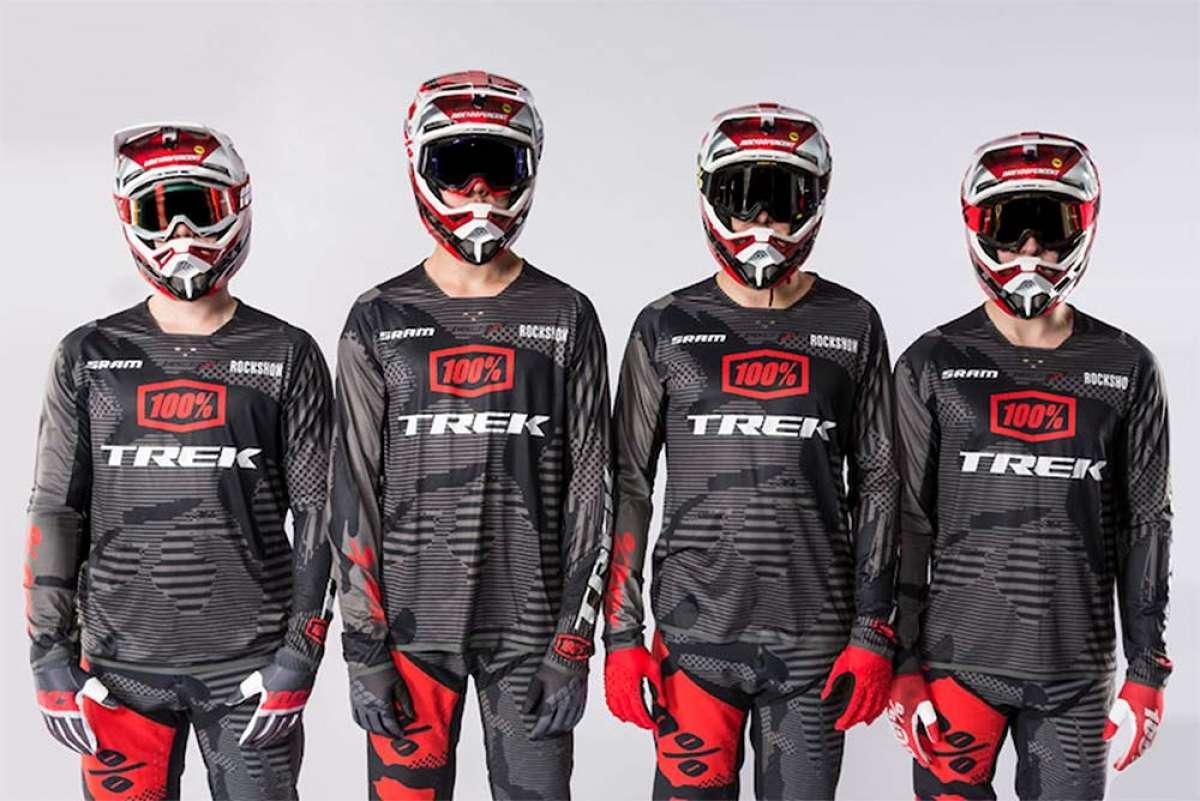 Tres corredores de élite y un junior para el renovado Trek Factory Racing DH