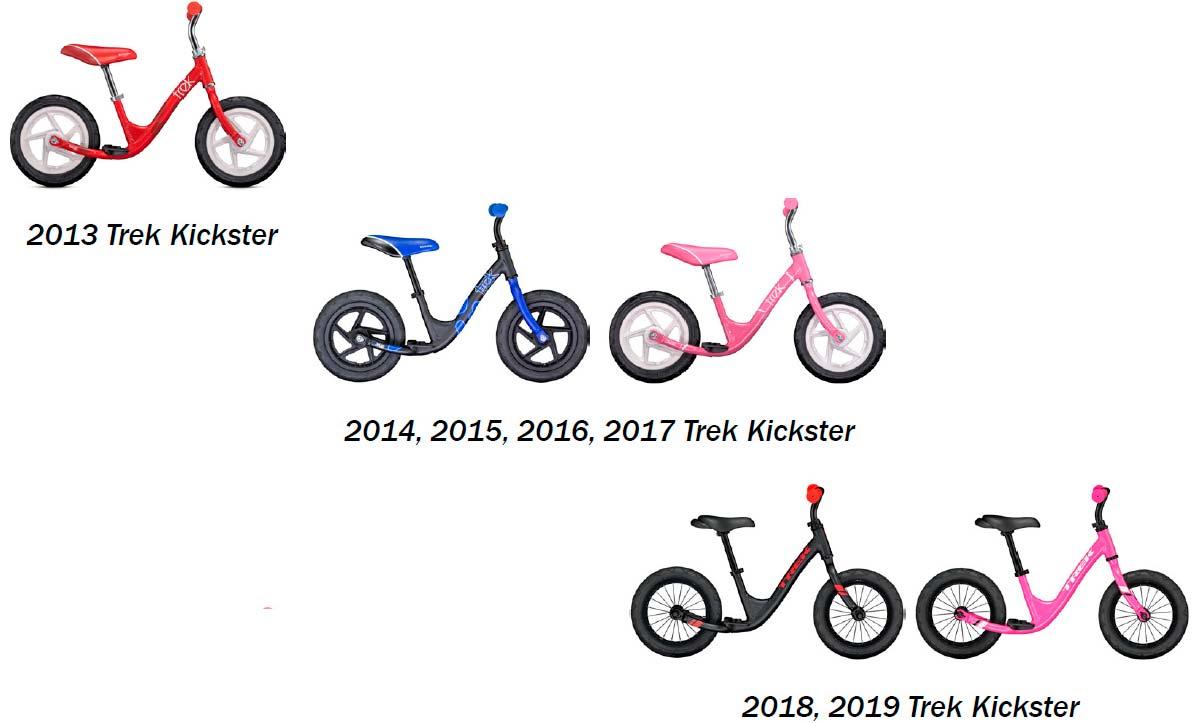 Trek Bikes llama a revisión las bicis infantiles Kickster por un problema en el tubo de la horquilla