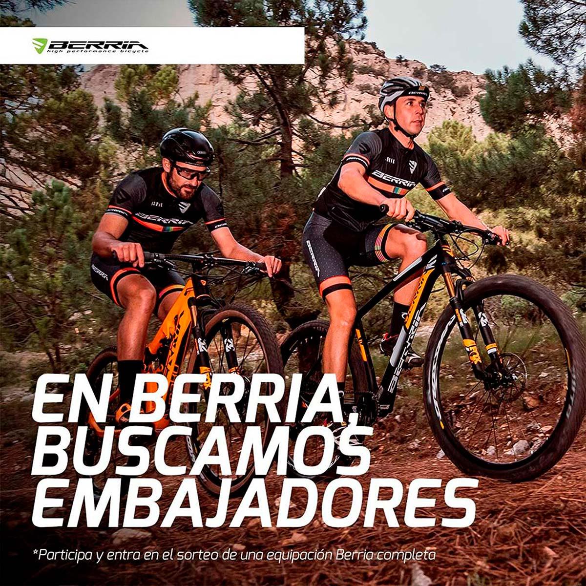 En TodoMountainBike: Berria Bike lanza un programa de embajadores en España
