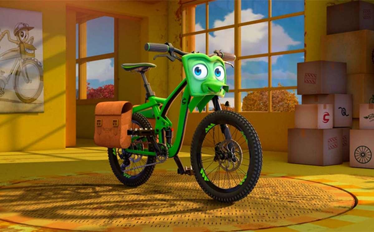 La Cannondale Trigger se convierte en protagonista de la película de animación 'Bikes'