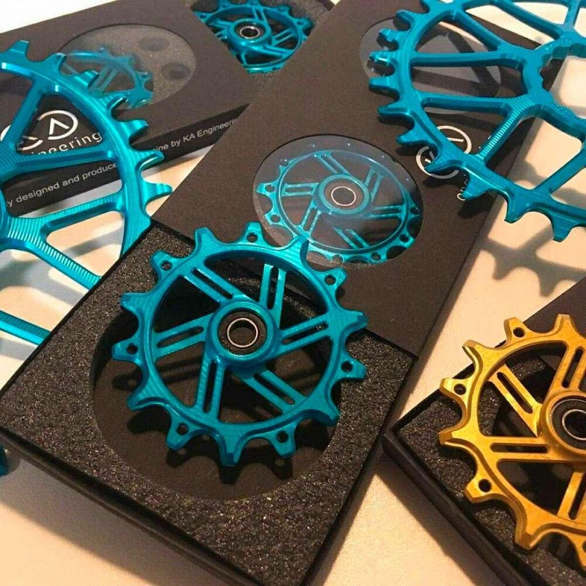 Bikesur Sport trae a España los platos de titanio y aluminio de Ka Engineering