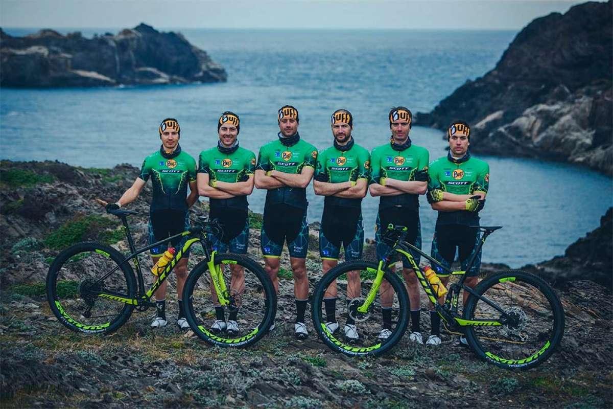 El Buff Scott MTB Team de 2019 se presenta en sociedad