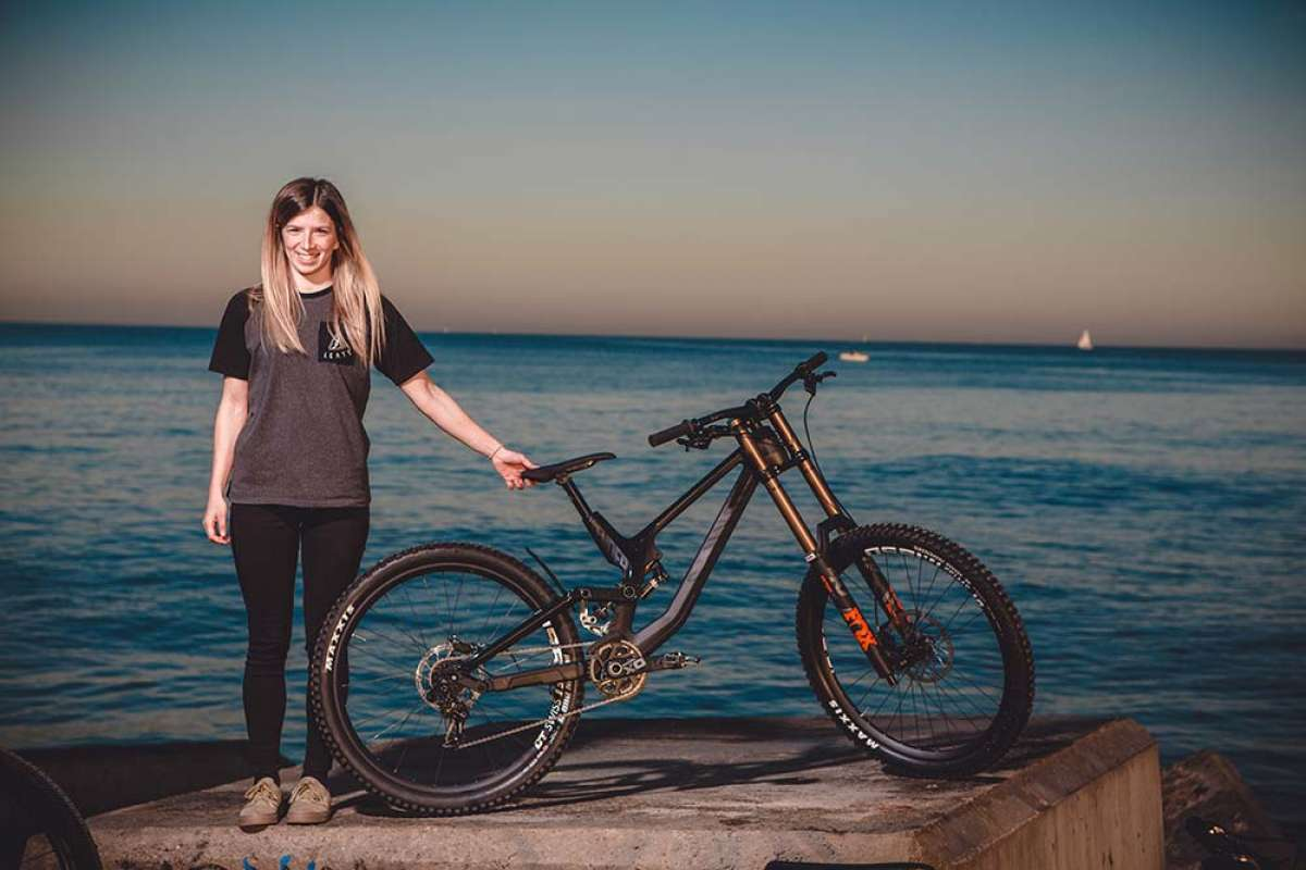 En TodoMountainBike: Canyon Bicycles ficha a Telma Torregrosa, campeona de España de DH