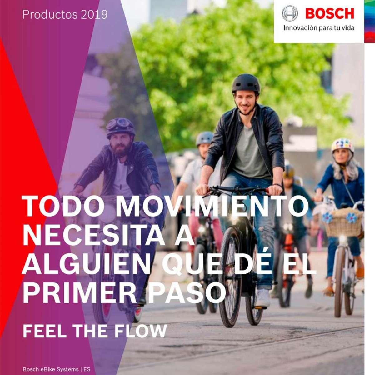Catálogo de Bosch eBike 2019, toda la gama de motores, baterías y accesorios de la firma alemana