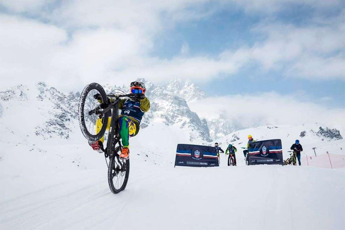 La UCI prepara una Copa del Mundo de Snow Bike para 2020