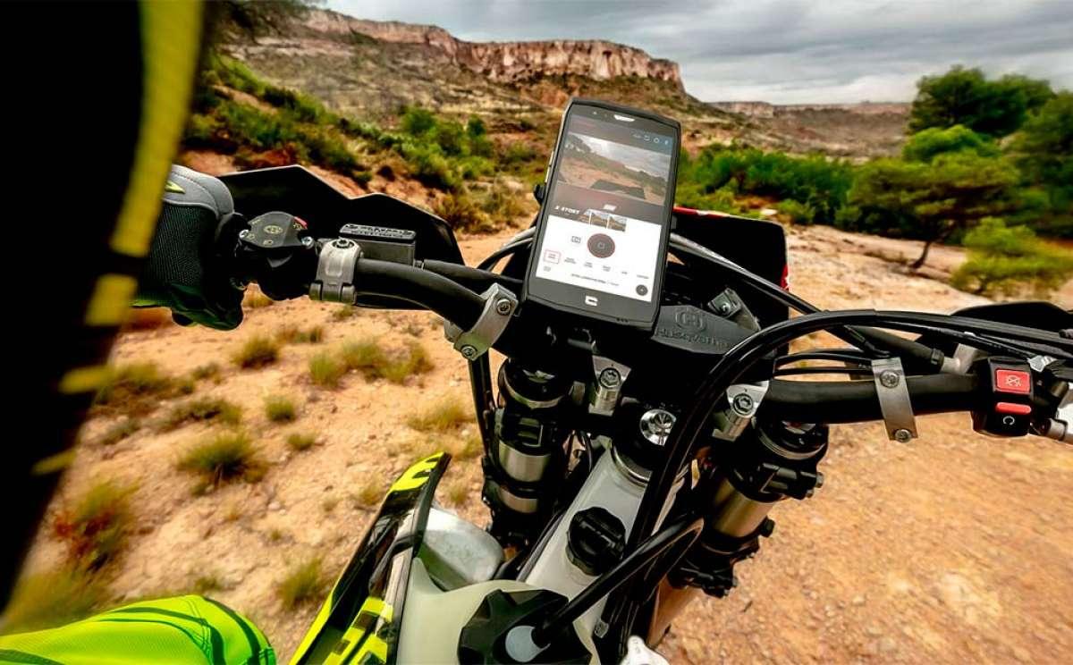 Crosscall Trekker-X4, un móvil todoterreno con cámara de acción 4K integrada