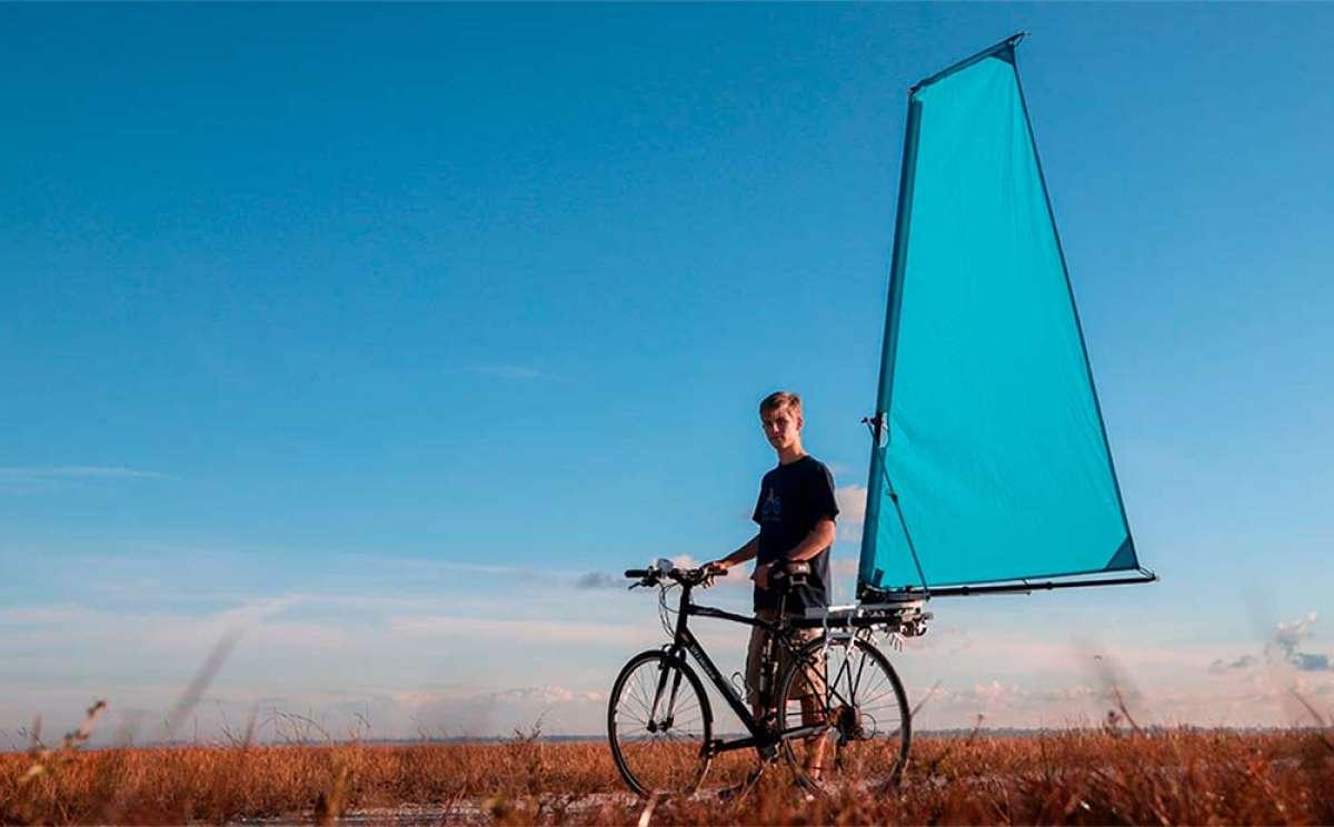 CycleWing, una vela para bicis que busca (pero no encuentra) financiación para salir al mercado