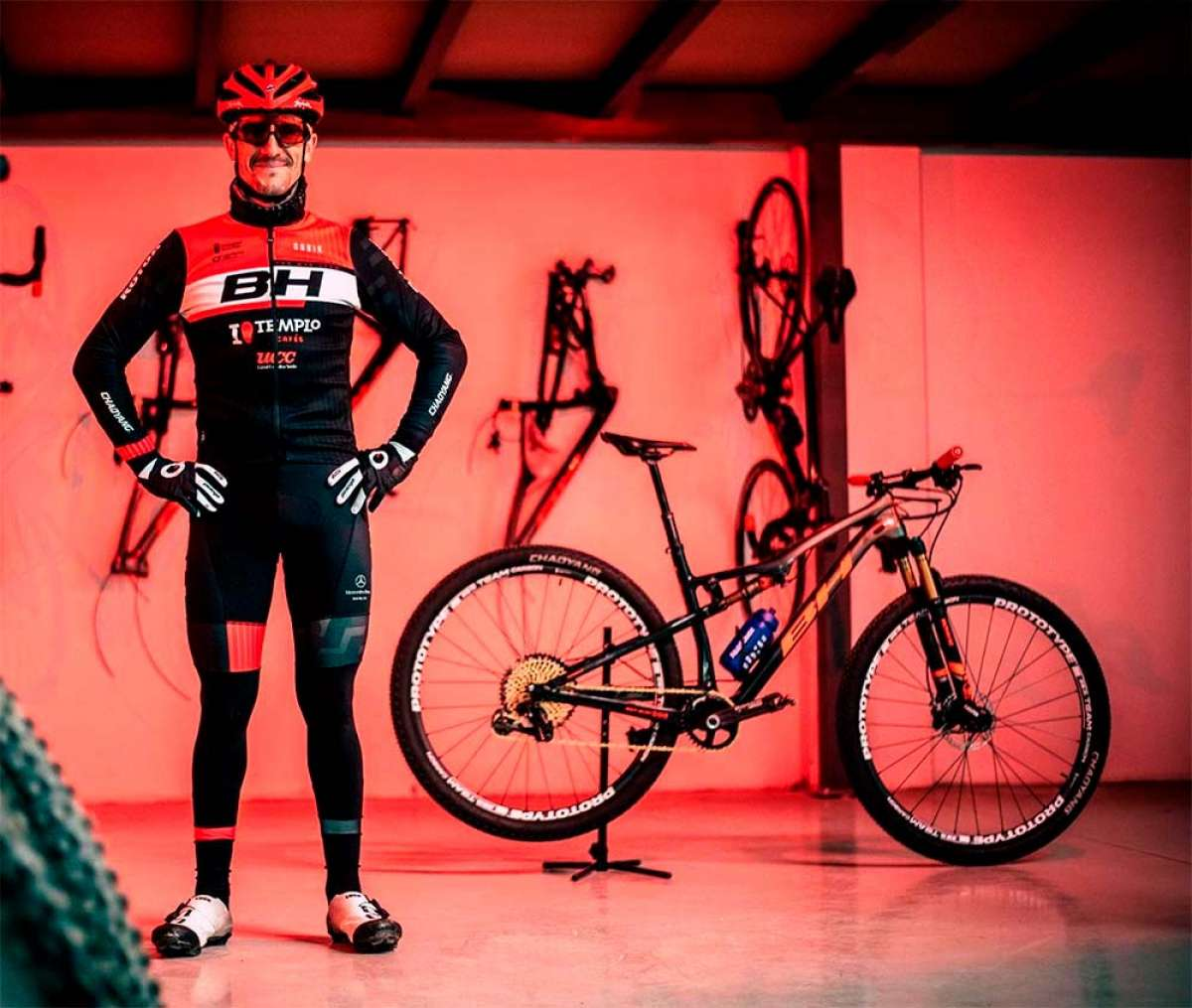 El BH Templo Cafés UCC de Carlos Coloma debuta en la Costa Blanca Bike Race 2019