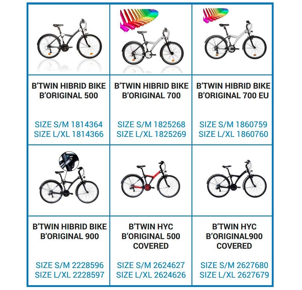 En TodoMountainBike: Decathlon llama a revisión las bicicletas B'Twin B'Original por un problema en el guardabarros