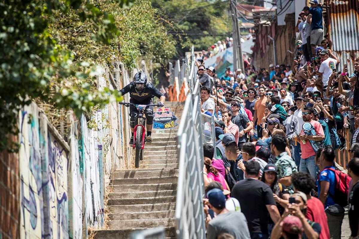 El descenso ganador de Pedro Ferreira en el Red Bull Valparaíso Cerro Abajo 2019