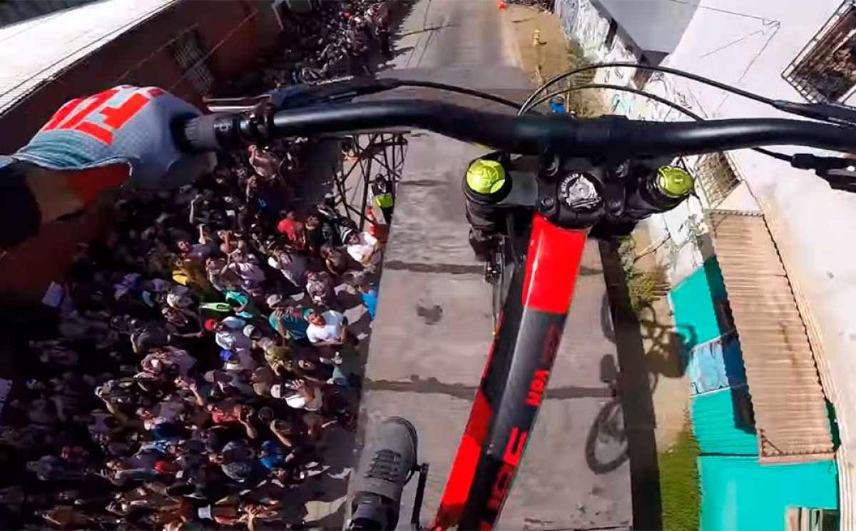 El descenso de Rémy Métailler en el Red Bull Valparaíso Cerro Abajo 2019
