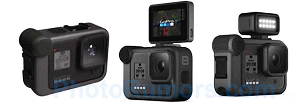 Filtradas las primeras imágenes y especificaciones de la GoPro Hero 8