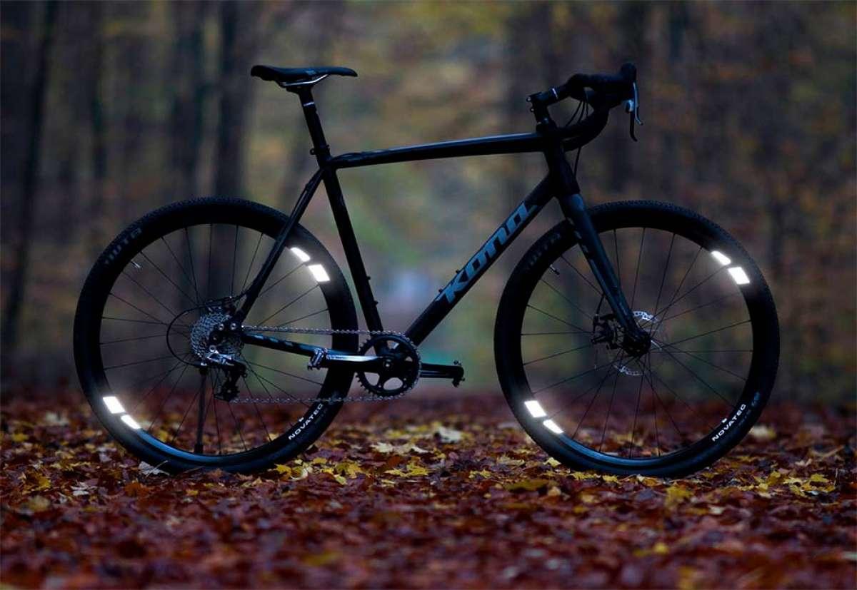 FLECTR 360 CL, unos adhesivos reflectantes que mejoran la visibilidad de los ciclistas