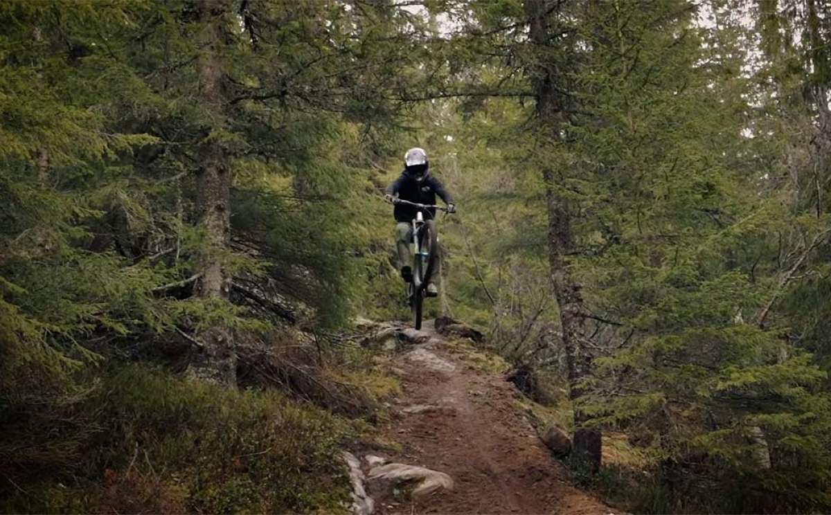 Mountain Bike invernal en Suecia: aprovechando las cuatro horas de luz diurna con Oscar Härnström