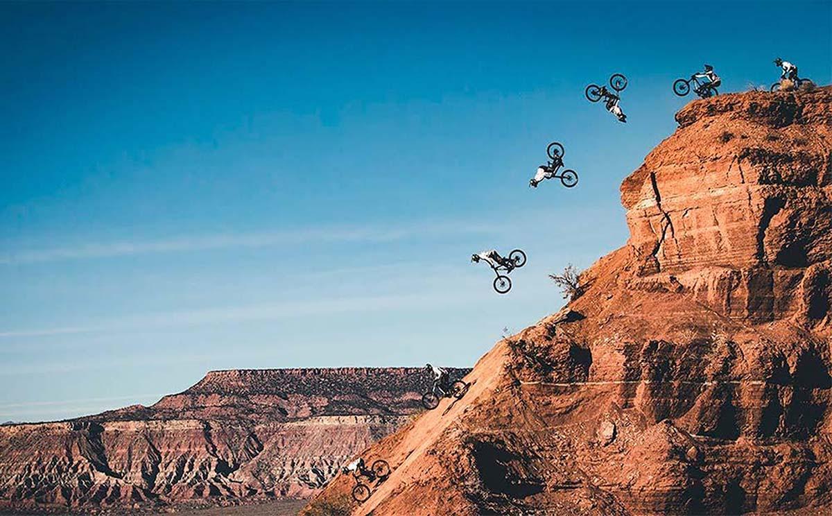 Mountain Bike extremo en el desierto de Utah con Tom Van Steenbergen y Ethan Nell