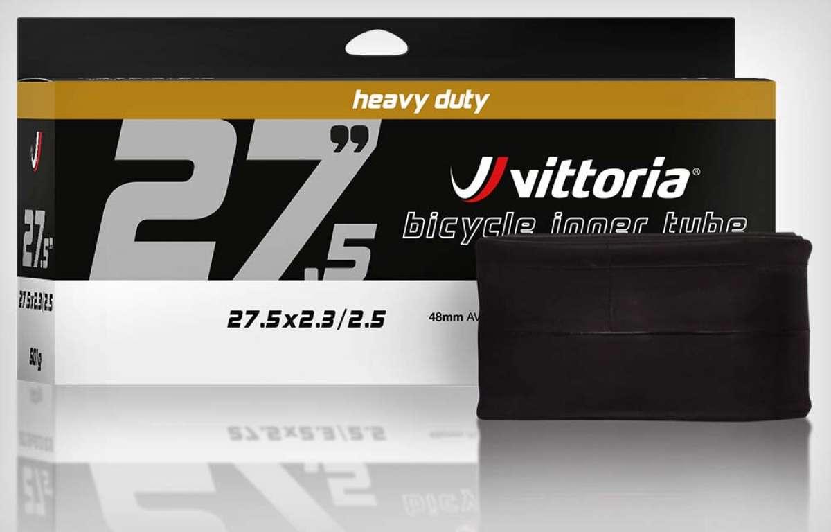 Vittoria presenta una completa gama de cámaras de aire para todo tipo de bicicletas