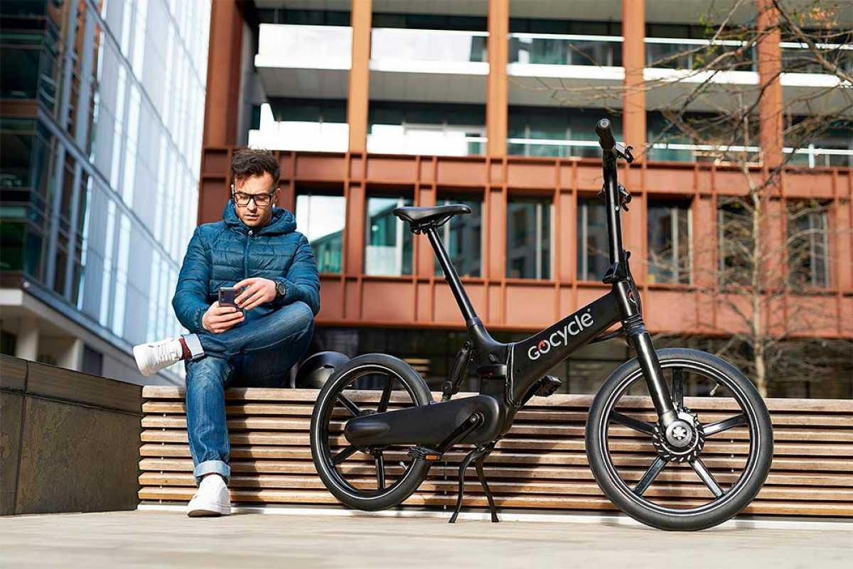 Gocycle GX, una bici eléctrica plegable con un diseño inspirado en la Fórmula 1