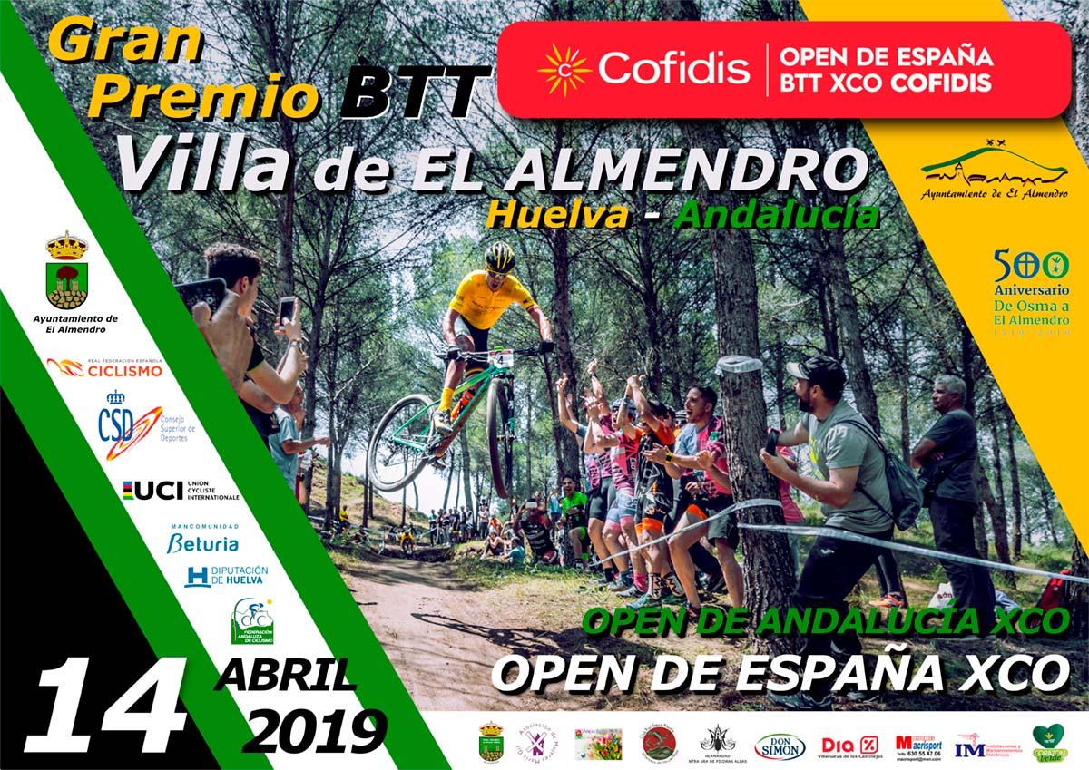 El Gran Premio BTT Villa de El Almendro se estrena en el Open de España de XCO 2019