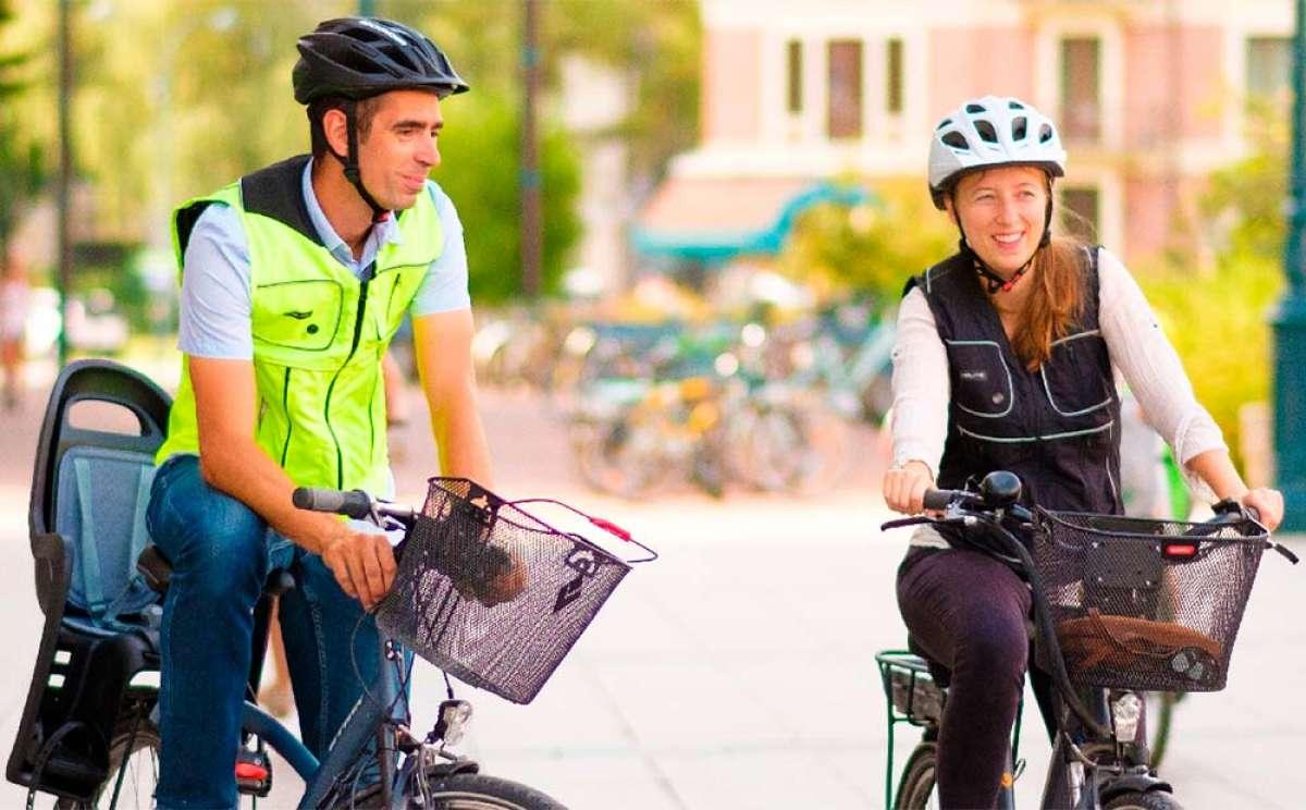Helite B'Safe, un chaleco para ciclistas con airbag integrado