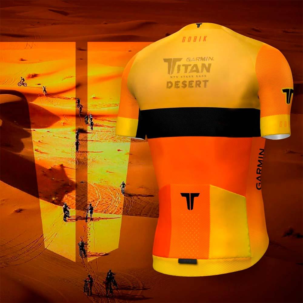 En TodoMountainBike: Presentado el maillot que recibirán todos los participantes de la Garmin Titan Desert 2019