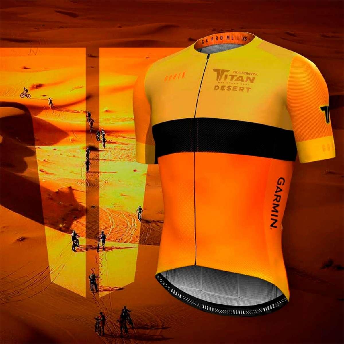 Presentado el maillot que recibirán todos los participantes de la Garmin Titan Desert 2019