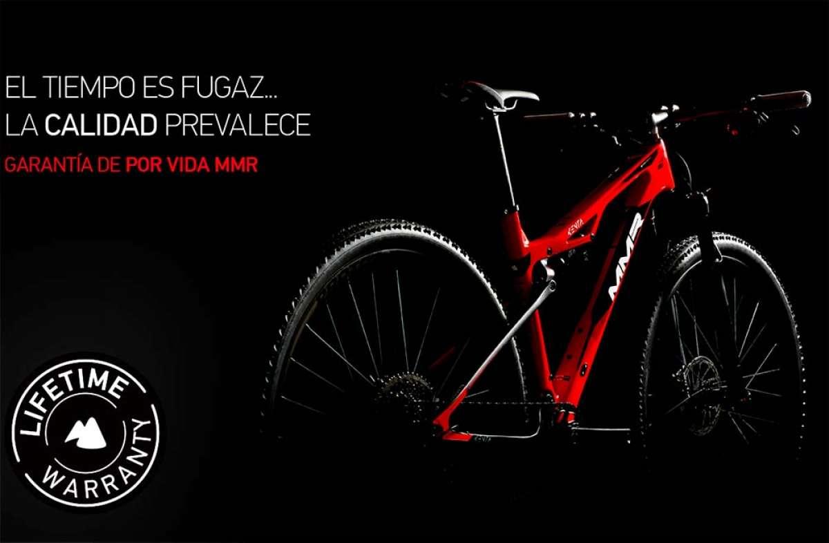 MMR Bikes implementa una garantía de por vida para sus bicis de 2019 en adelante