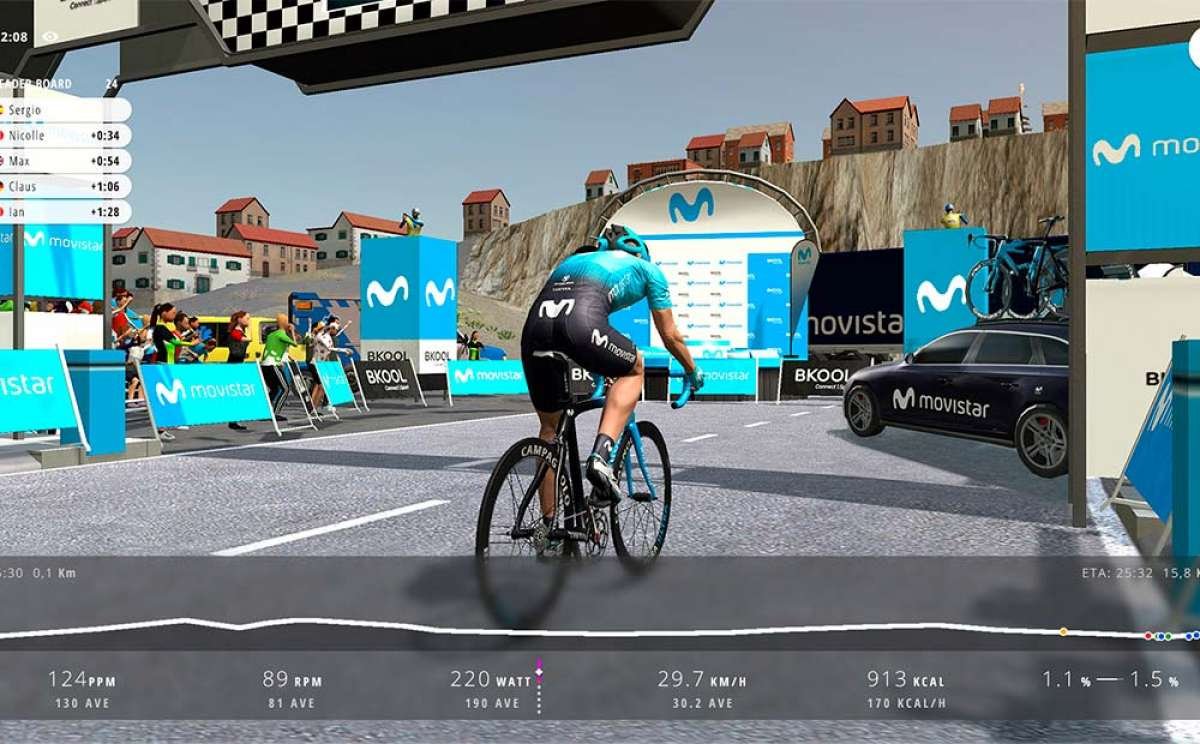 Telefónica anuncia una competición internacional de ciclismo virtual en asociación con Bkool