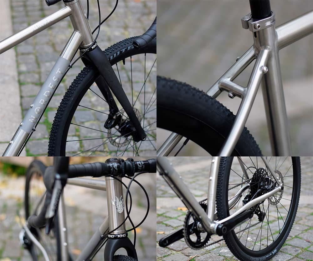 En TodoMountainBike: Nordest Albarda Ti, una bici de gravel con cuadro de titanio para viajar hasta el fin del mundo