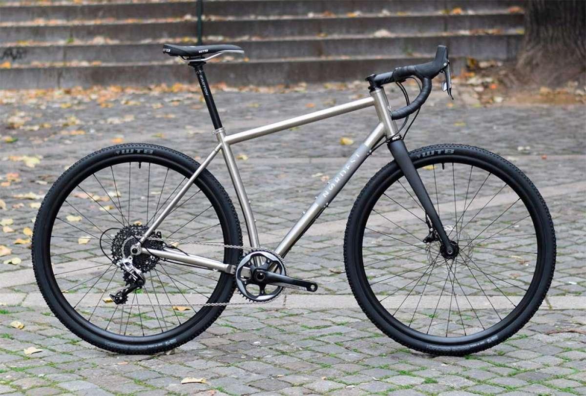 Nordest Albarda Ti, una bici de gravel con cuadro de titanio para viajar hasta el fin del mundo
