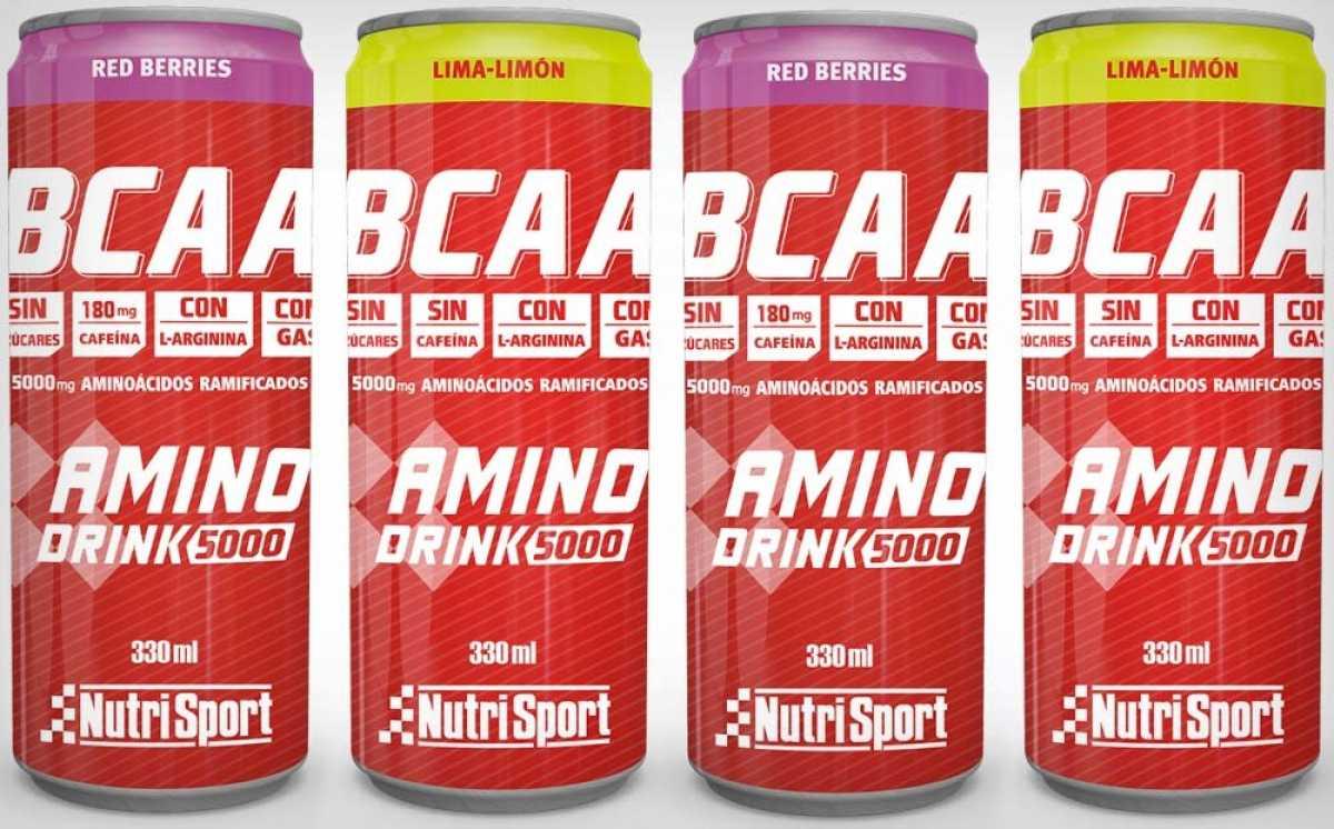 Aminoácidos ramificados listos para beber, lo último de Nutrisport para el deportista