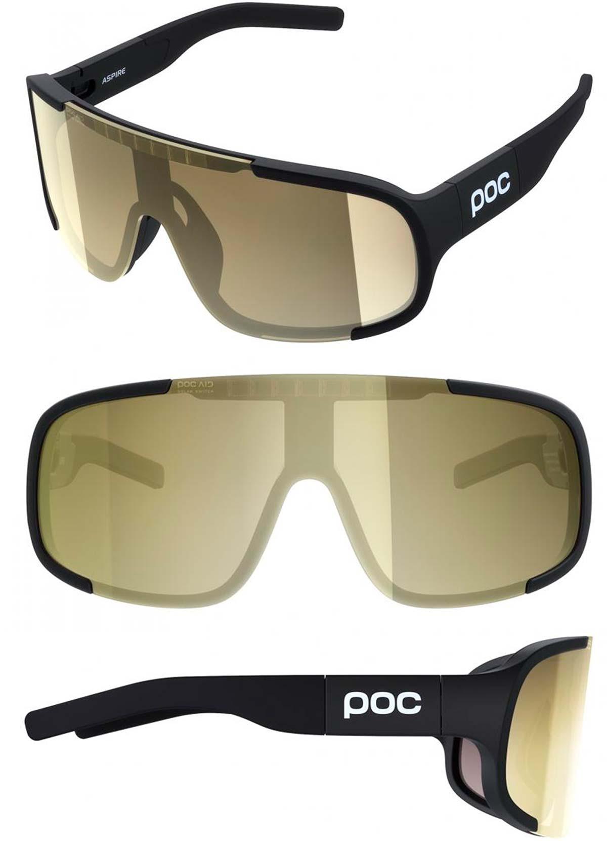 POC Aspire Solar Switch, las primeras gafas de ciclismo con lente electrocrómica potenciada con energía s...