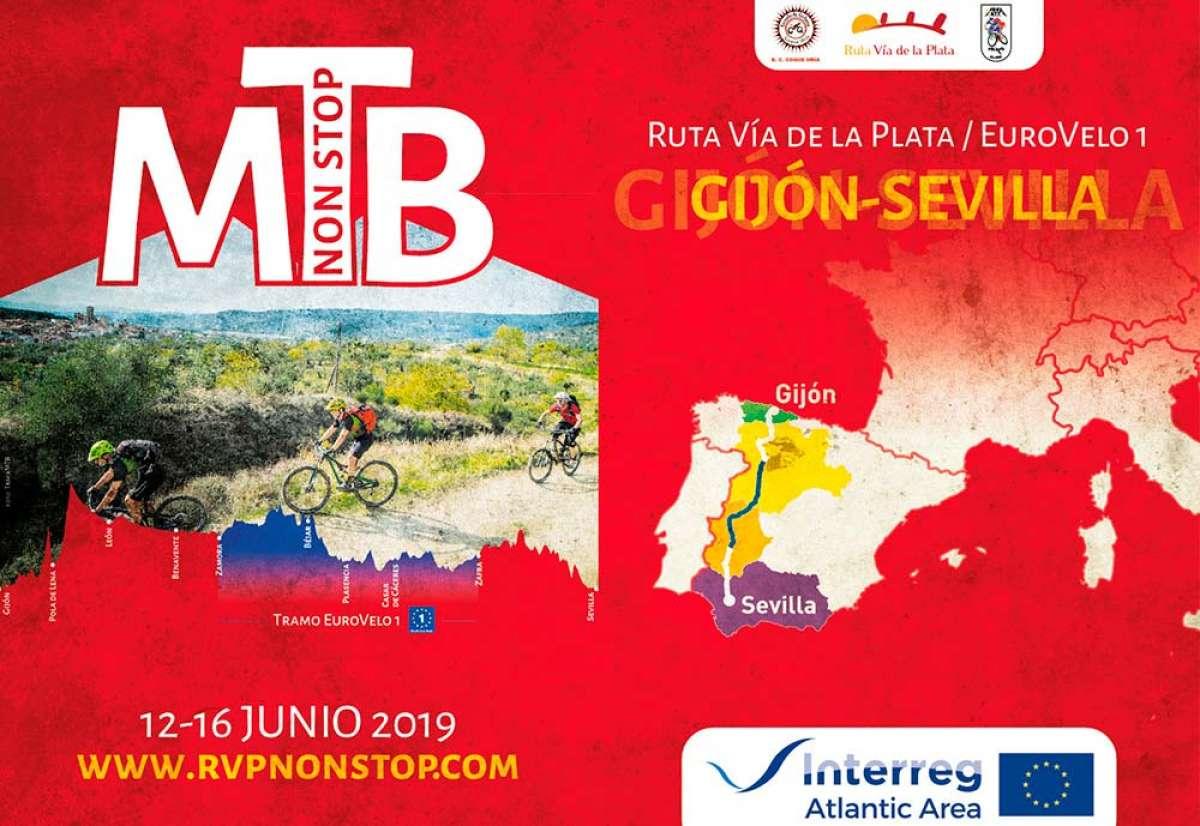 Nace la RVP - Non Stop/Eurovelo 1, de Gijón a Sevilla en formato MTB Non Stop