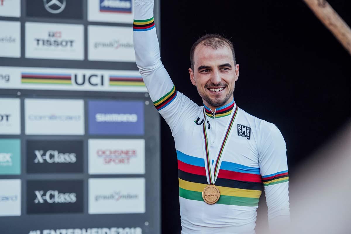 Así está el ranking individual de la UCI a pocos días del arranque del Campeonato del Mundo de MTB