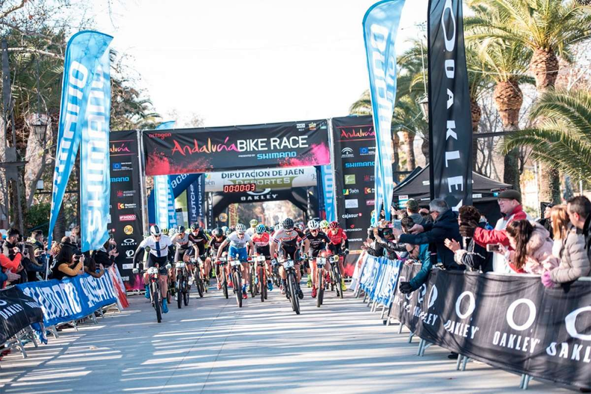 Recorrido oficial de la Andalucía Bike Race 2019