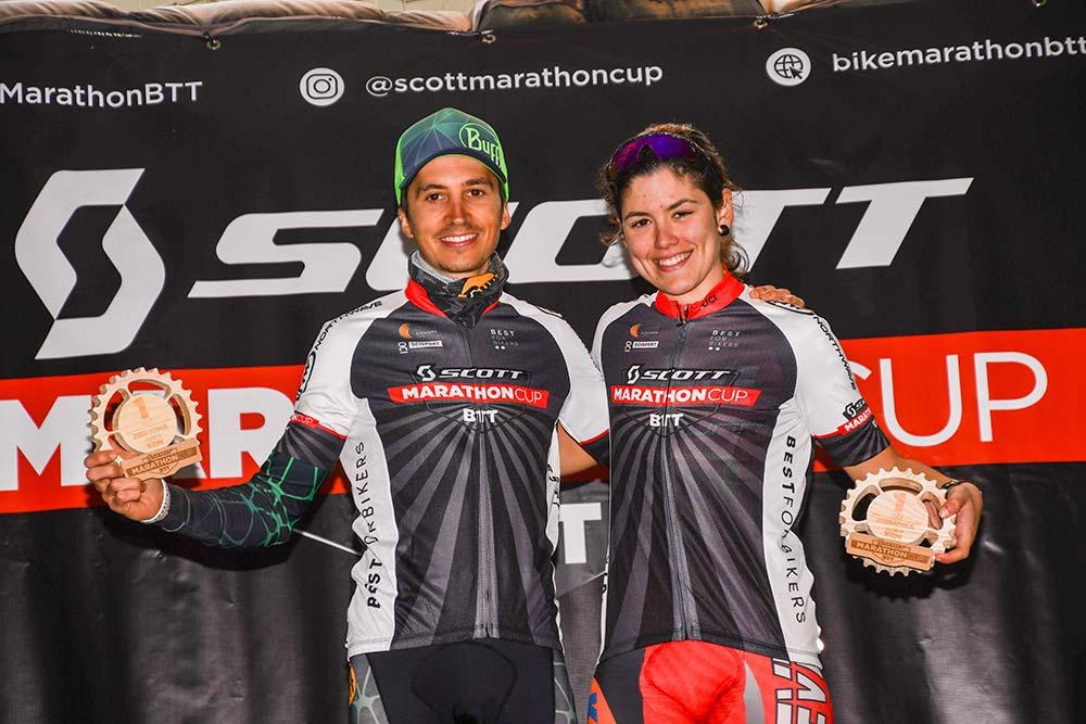 En TodoMountainBike: Francesc Guerra y Silvia Roura dominan la Scott Marathon Cup de Sant Joan de Mediona