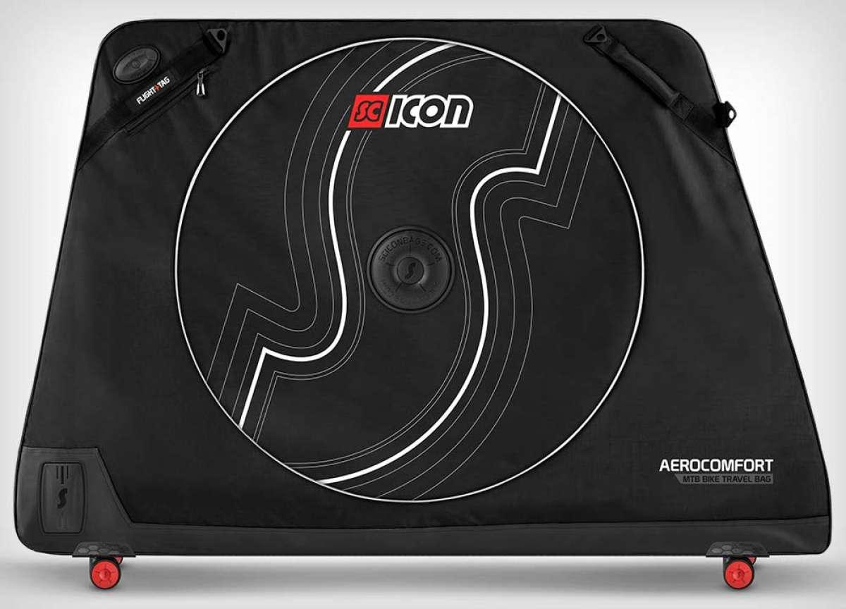 Scicon AeroComfort MTB, una maleta de tamaño revisado para transportar bicis de geometría moderna