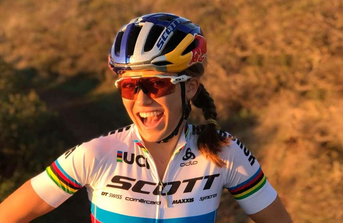 El SCOTT-SRAM MTB Racing Team se refuerza con los fichajes de Kate Courtney y Lars Förster