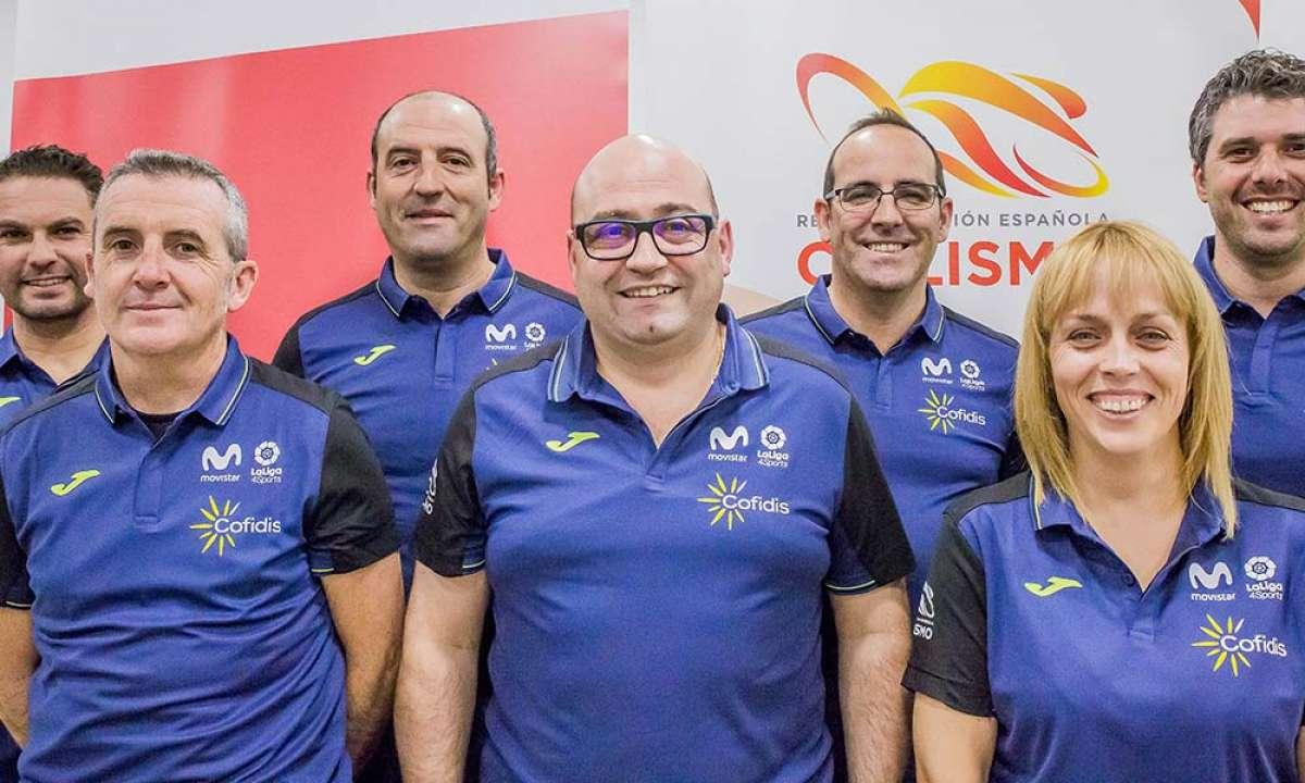La RFEC presenta el equipo técnico de seleccionadores de todas las disciplinas ciclistas para 2019